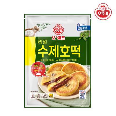 [오뚜기] 오쉐프 리얼 수제호떡 (1kg) x 1