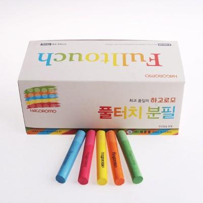 하고로모 분필 - 탄산 5색 합본 1박스 18통 (1,296本)