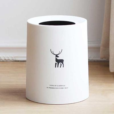 Modern bonita 사슴 오픈 휴지통 19.5x25.7cm 2color
