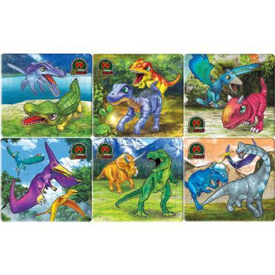 12 12 12 15 15 15조각 판퍼즐 - 공룡 메카드 (6종)