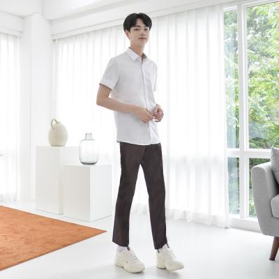 [빅사이즈]허리조절 하복 브라운 교복바지(남자) ~6XL