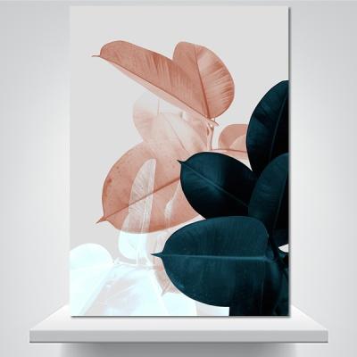 잎사귀의 숨결 B - 감성그림 폼보드 액자