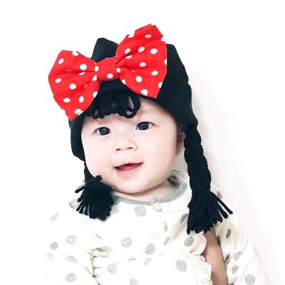[유호랑]써니비니-아기위그햇