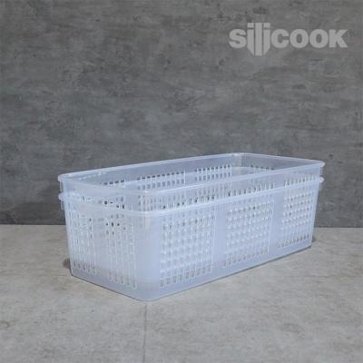 [실리쿡]냉장고문수납 롱트레이대 (2개)
