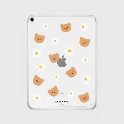 Dot flower bear(아이패드-투명)
