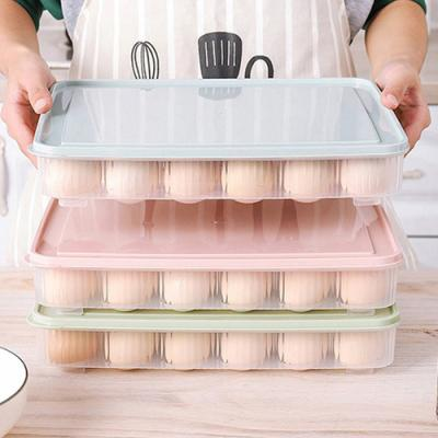 파스텔 뚜껑 24구 계란보관함 1개(색상랜덤)