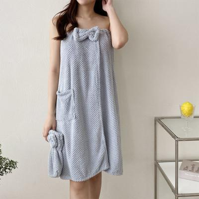 Towel Gown Set - 헤어캡포함
