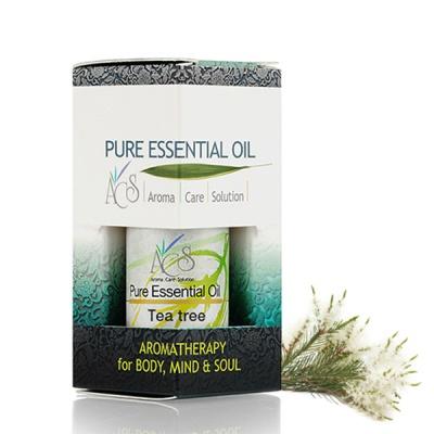 [ACS] 티트리 Tea Tree 에센셜오일, 10ml, 100% Pure, 수입완제품, Made in Austria