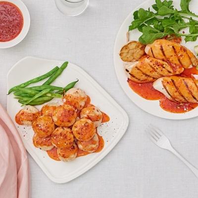 낮은 칼로리 포켓도시락 저녁대용식 4주분 (5종 36팩)