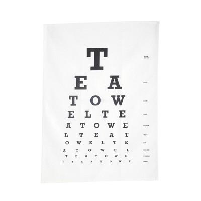 [House Doctor]Tea towel, Eye Test  Af0410 티타올