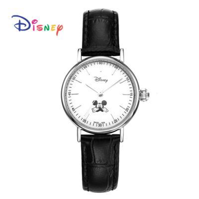 Disney 월트디즈니 미키가죽시계 OW-157BKS