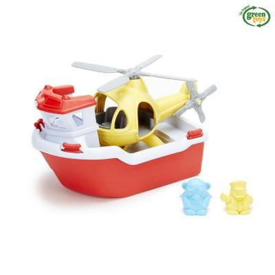 구조보트 & 헬리콥터