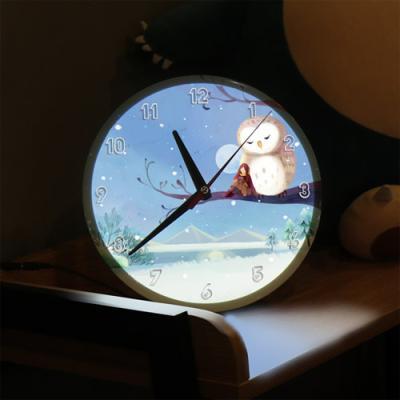 ng200-LED시계액자25R_달빛아래눈내리는겨울밤