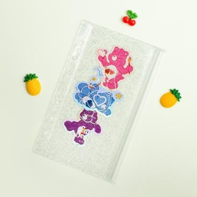 루카랩 케어베어 아카이브 6공 다이어리 지퍼백