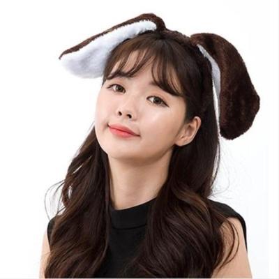 강아지귀 머리띠 생일파티 파티소품 콘서트용품