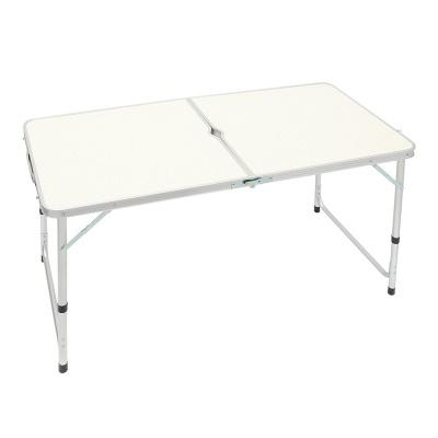 높이조절 접이식 캠핑테이블 브라운 야외테이블