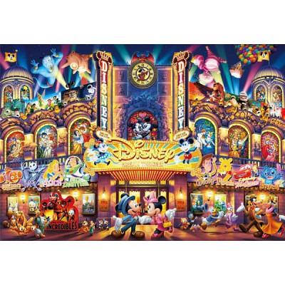 [텐요] 직소퍼즐 / 2000조각 / 디즈니 시리즈 - 디즈니 극장 / D-2000-608 / 야광퍼즐 / 일본직수입 / 무료배송