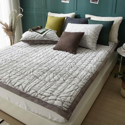 샤르르 로하스 라셀극세사 침대패드 퀸 160x205