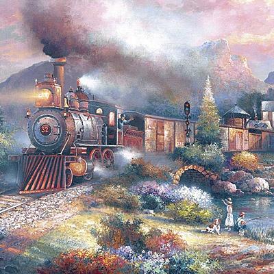 1000조각 직소퍼즐▶ 매리랜드 기차 (LA1000-050)