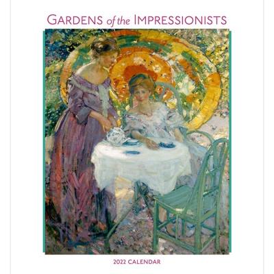 2022 캘린더 Gardens of the Impressionists