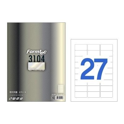 폼텍 레이저용 광택라벨/LA-3104