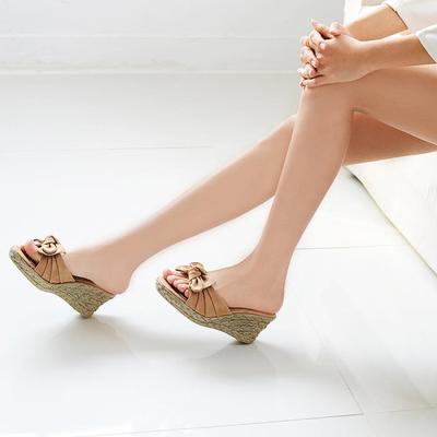 여름슬리퍼 굽높이 7cm 여성 패션슬리퍼