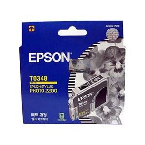 엡손(EPSON) 잉크 C13TO34870 / 매트검정 / Styius Photo 2200