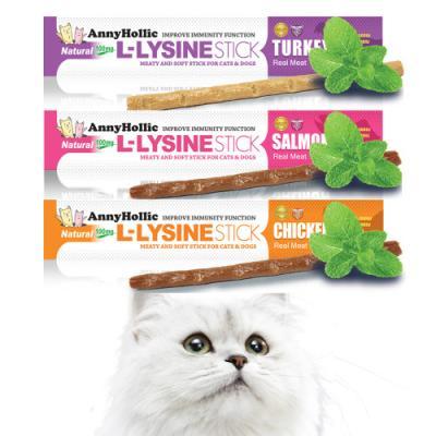 애니홀릭 엘라이신 스틱x1P (3종 맛선택) 고양이간식