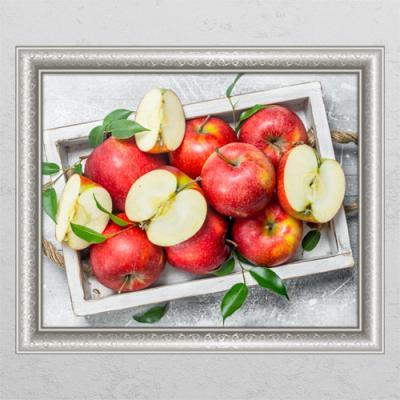 tl478-재물운이가득한풍수빨간사과_창문그림액자
