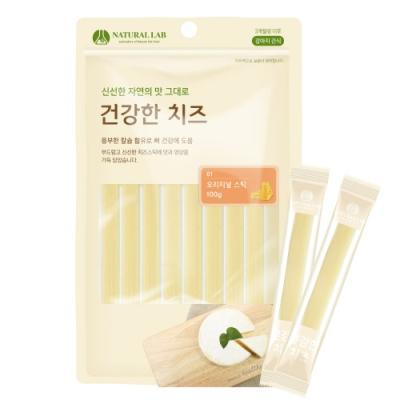 [건강한치즈] 애견간식 스틱 100g