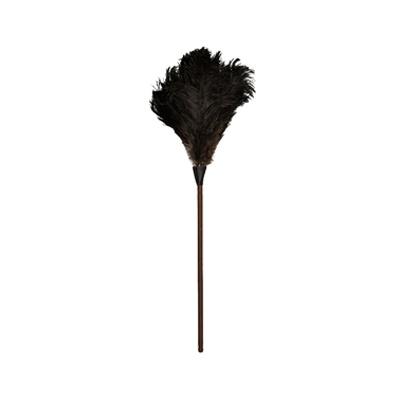 타조 깃털 브러쉬 블랙 80cm_Ostrich Feather Black 80cm