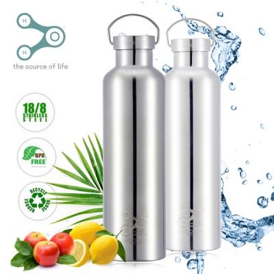 스테인레스 보온 보냉 물병 1000 ml (메탈캡/무광) BR1000