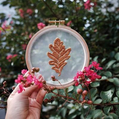 프랑스자수 투명자수액자 DIY 키트 - 개암나무