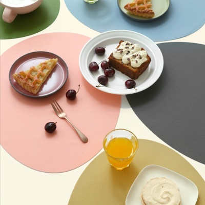 [N365] 르리에 실리콘 식탁 테이블매트 오벌