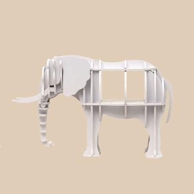 DIY 코끼리 동물조형 선반 책장 인테리어 진열선반