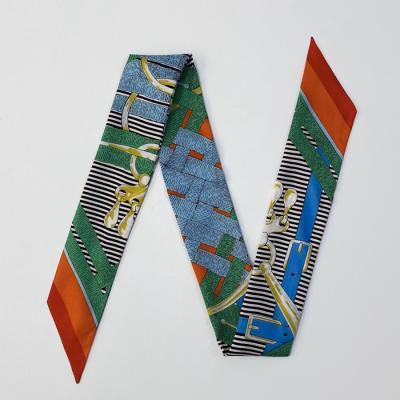 Silk Signal Petit Tie Scarf