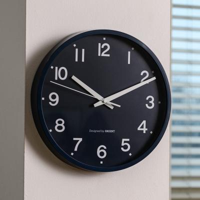 오리엔트 OT879LM 무소음 야광숫자 인테리어벽시계