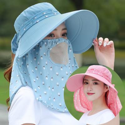 켄트 여자 햇빛가리개 농사 자외선차단 그늘막 모자