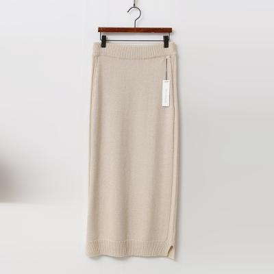Merino Wool J Long Skirt