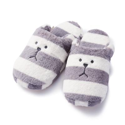 크래프트홀릭 BORDER SLOTH SLIPPER