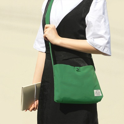 Reversible two way cross bag_Forest green