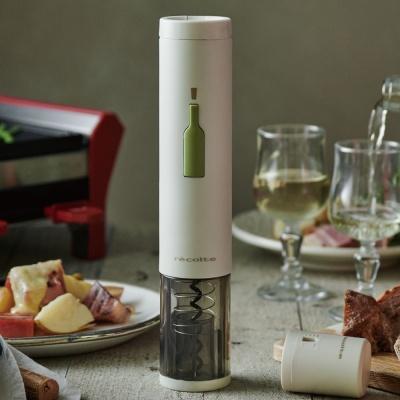 레꼴뜨 이지 원터치 전동 와인 오프너 호일커터
