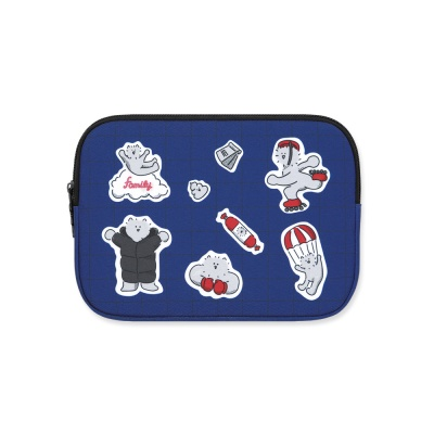 (아이패드미니/태블릿) 쿠마 Blue