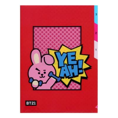 [BT21] 3 포켓 파일 폴더 / 쿠키(COOKY)