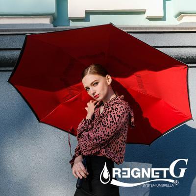 레그넷 G. 리사이클 빅사이즈 자동 거꾸로 우산