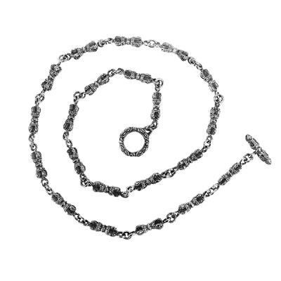 [SWCHN-100] 금강경 체인 은목걸이