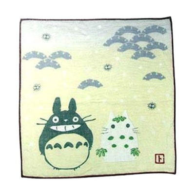 [이웃집 토토로] 사계절 가제손수건(눈사람)