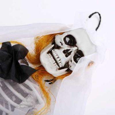 미니 해골 인형장식 40cm 신부