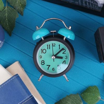 탁상용 해머 알람시계 / 무소음 시계 (그린) LCID918