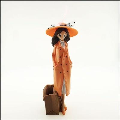 가을여인 인테리어 인형